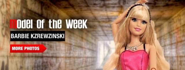 Model of the Week: Barbie Kzrewzinski