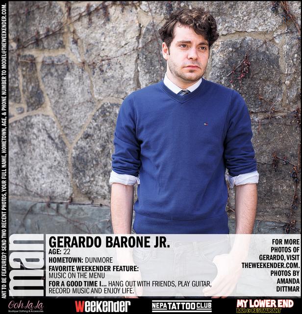 Man of the Week: Gerardo Barone Jr.