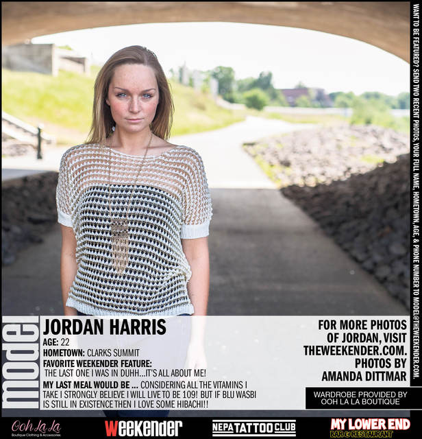Model of the Week: Jordan Harris