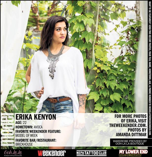Model of the Week: Erika Nikole Kenyon