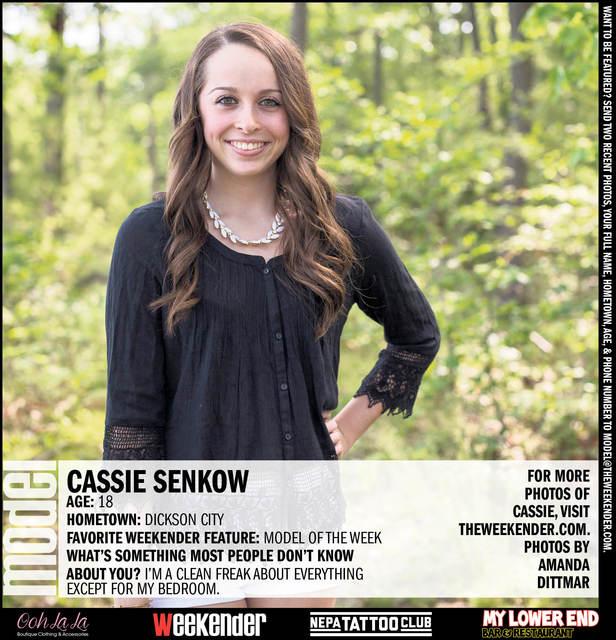 Model of the Week: Cassie Senkow
