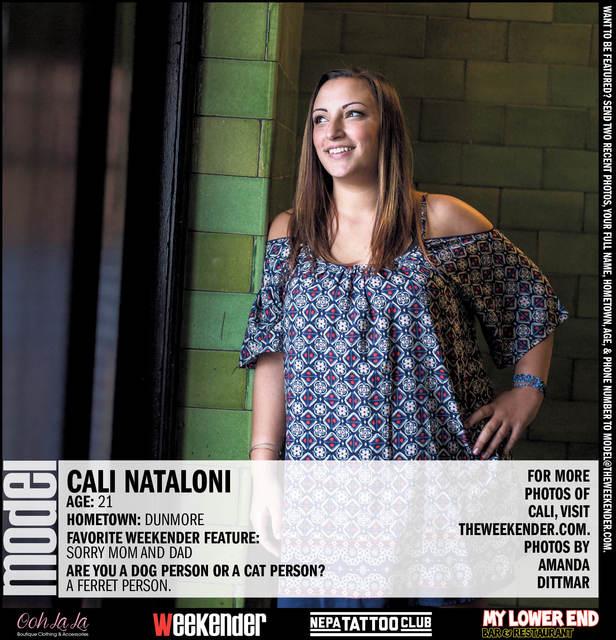 Model of the Week: Cali Nataloni