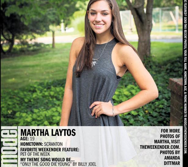 Model of the Week: Martha Laytos