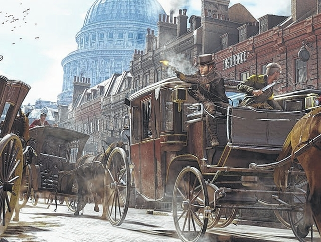 "Game On: Jacob and Evie Frye bring the adventure of ""Assassin's Creed: Syndicate"" to London"