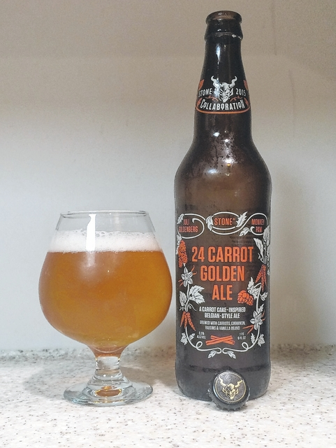 I'D TAP THAT: Drink your dessert of Stone 24 Carrot Golden Ale