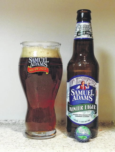 I'D TAP THAT: Sam Adams' Winter Lager perfect for those cold, dark nights