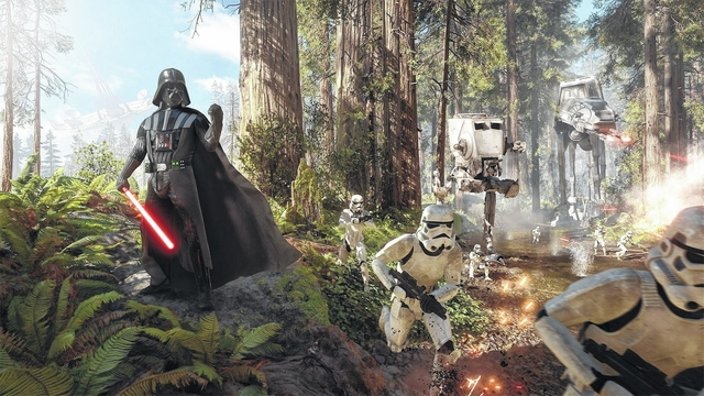 "Game On: ""Star Wars: Battlefront"" gameplay is just like being a part of the movie"