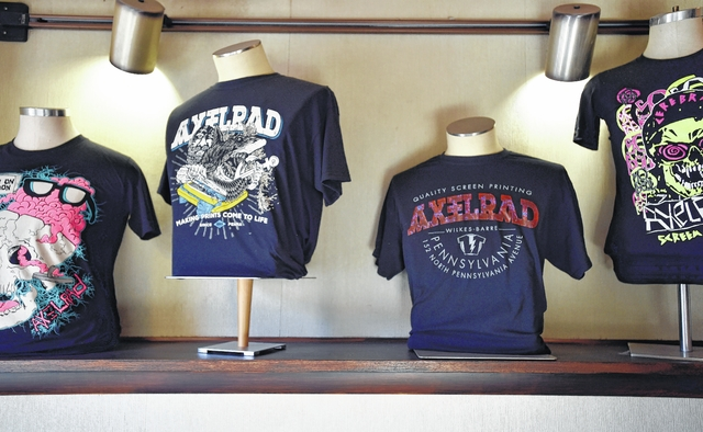 AxelRad-designed T-shirts in Wilkes-Barre. Aimee Dilger | Weekender