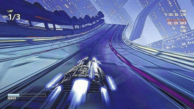 Game On: 'Fast Racing Neo' blends futuristic cars and tracks into a eye-catching game for Wii U