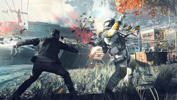 "Game On: ""Quantum Break"" features unique TV shows based on video game play"