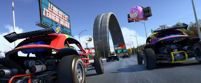 "Game On: Race on with hundreds of different tracks in ""TrackMania Turbo"""