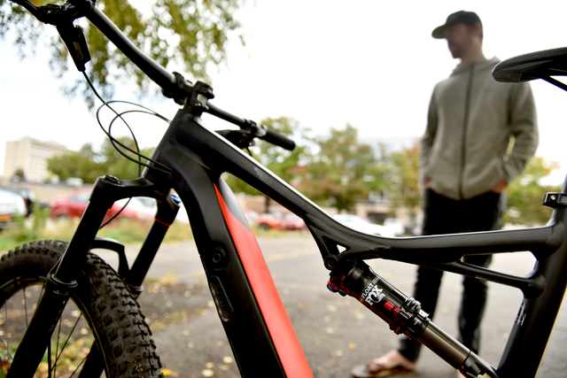 E-bikes may be next step for bikers, next giant leap for the sport
