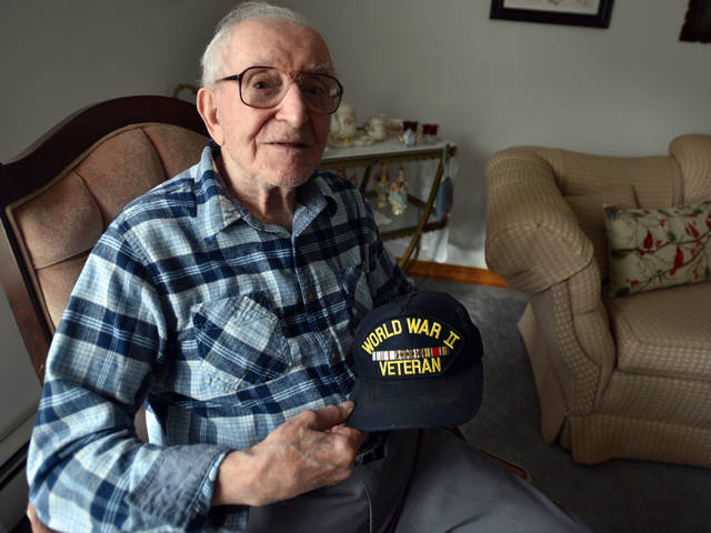 D-Day hero, from Shavertown, remembers storming Utah Beach in Normandy