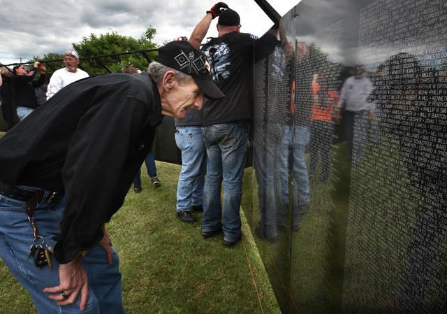 The Wall that Heals: Vietnam Memorial replica arrives in Swoyersville