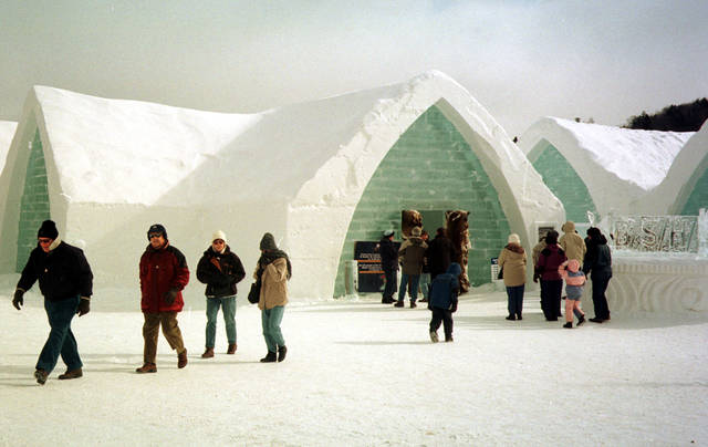 News of the Weird: Frozen bats in Australia and a Canadian ice hotel on fire