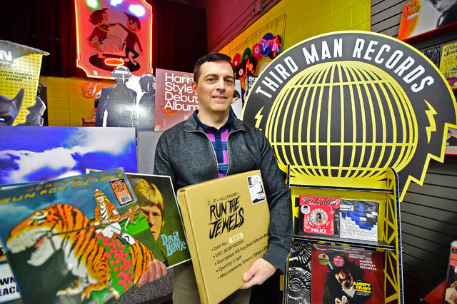 Vinyl records shop opens in Altrincham town centre