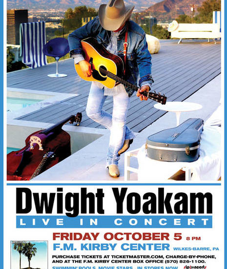 Country pioneer Dwight Yoakam to perform at F.M. Kirby Center in WB