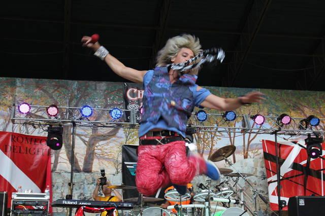 Romeo Delight bringing Van Halen show to Woodlands