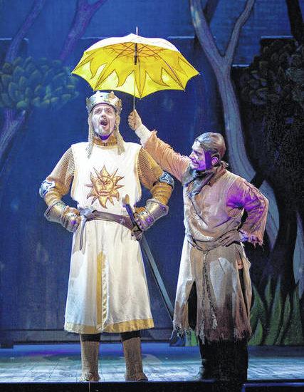 King Arthur, knights bringing 'Spamalot' to Scranton