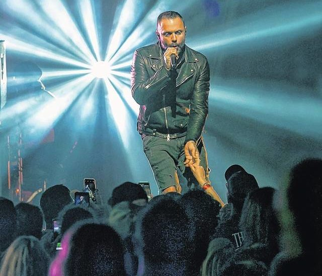 Blue October rocks the Kirby Center, tackles mental health