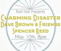 Dave Brown to present new material at Karl Hall performance this Friday