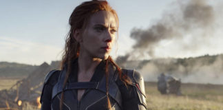 This image released by Disney/Marvel Studios' shows Scarlett Johansson in a scene from 'Black Widow.'                                  AP file photo