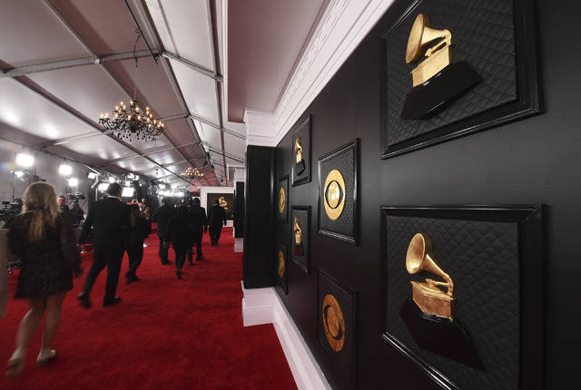 <p>A view of the red carpet appears prior to the start of the 62nd annual Grammy Awards on Jan. 26, 2020, in Los Angeles. The Recording Academy told The Associated Press on Tuesday, Jan. 5, 2021, that the annual show would shift from its original Jan. 31 broadcast to March 14. The Grammys will be held in Los Angeles at the Staples Center.</p>                                  <p>AP photo</p>